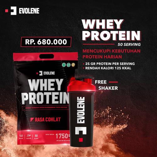 Foto Produk Evolene Whey Protein 4lb Free Shaker dari Solid-Store