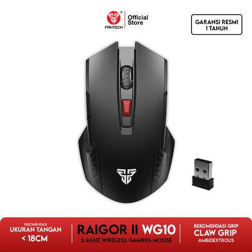 Foto Produk Fantech RAIGOR II WG10 Mouse Wireless Gaming - Mystic Black dari Fantech Official Store