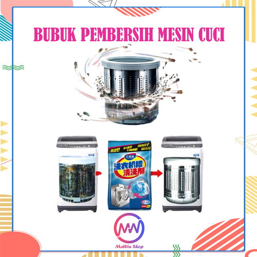 Foto Produk Pembersih Mesin Cuci - Washing Machine Cleaner dari Mawin Shop