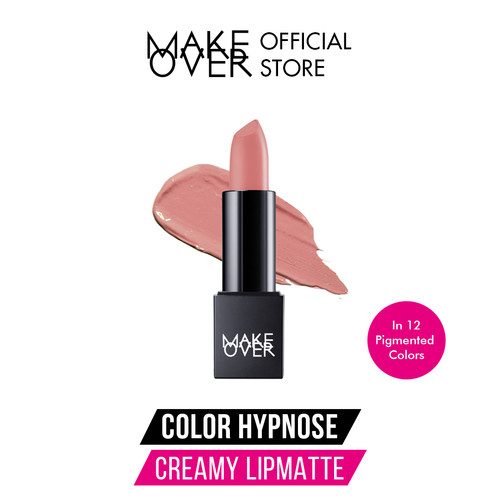 Foto Produk Make Over Color Hypnose Creamy Lipmatte - 01 Charm dari Make Over Official Shop