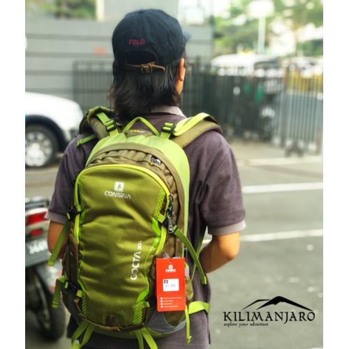 Foto Produk Daypack /Tas Ransel Consina Gocta 30 L - Hijau dari Kilimanjaro Outdoor