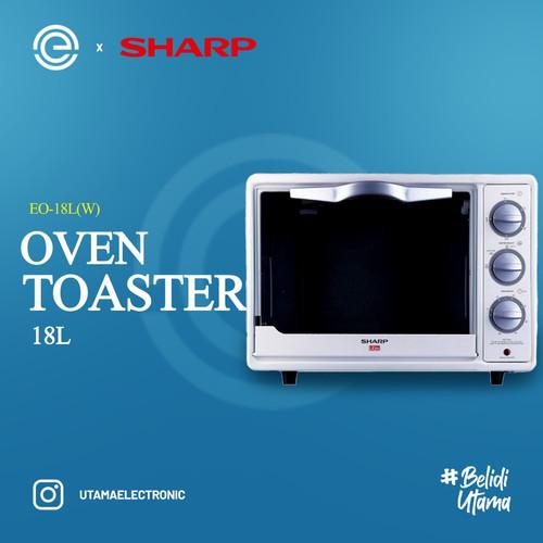 Foto Produk SHARP Oven Toaster Listrik 18 Liter - EO-18L(W) dari UTAMA_ELECTRONIC