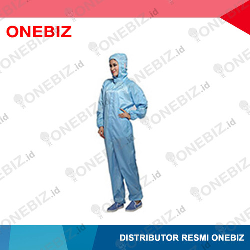 Foto Produk BAJU ANTISTATIK Jumsuit Warna Biru With Hood XL dari ONEBIZ