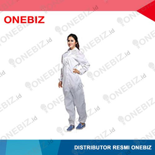 Foto Produk BAJU ANTISTATIK Jumpsuit Warna Putih M dari ONEBIZ