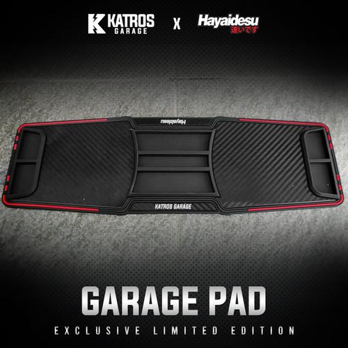 Foto Produk GARAGE PAD KATROS GARAGE X HAYAIDESU KARPET STANDAR TENGAH MULTIFUNGSI - Merah dari Hayaidesu Indonesia
