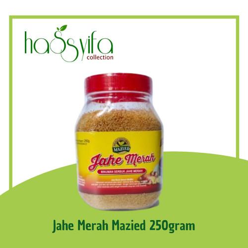 Foto Produk Minuman Serbuk JAHE MERAH INSTANT MAZIED -/+250 gram dari Hassyifa collection
