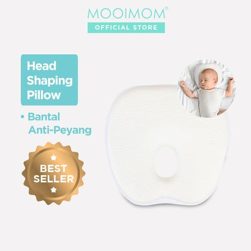 Foto Produk MOOIMOM Head Shaping Pillow Bantal Bayi Anti Peyang dari MOOIMOM Official