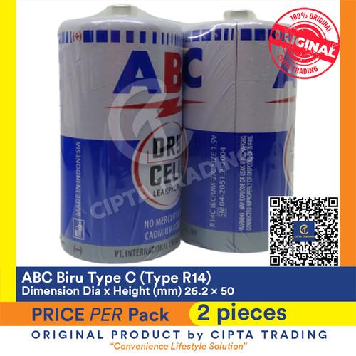 Foto Produk Battery - ABC Biru - Type C (1 Pack of 2 pieces) dari Cipta Trading