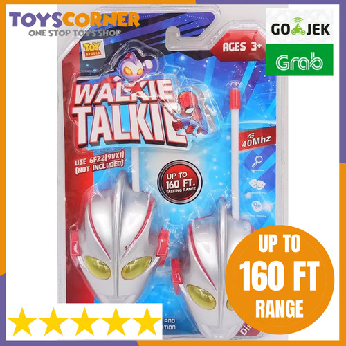 Foto Produk ️🔥 Walkie Talkie Anak Karakter Ultraman Berkualitas ️🔥 dari Deals Corner Toys