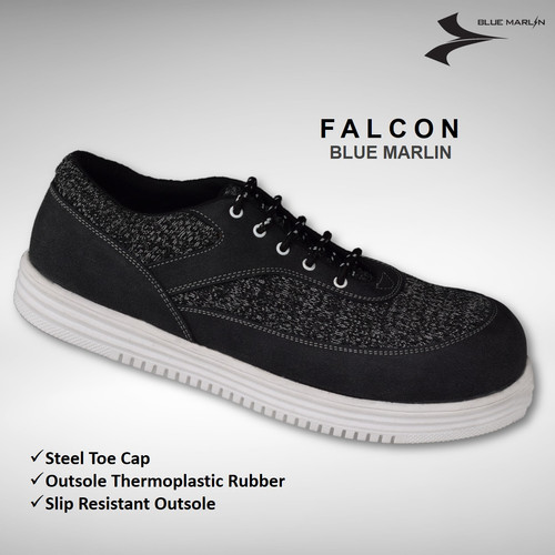 Foto Produk BluMar Safety Shoes Falcon Ujung Besi - 43 dari Eurostat Safety Shoes