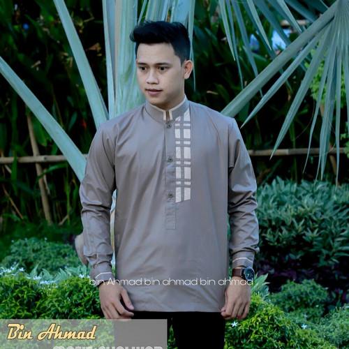 Foto Produk Baju Koko Bordil Lengan Panjang Terbaru Koko NU Seragam Koko Majelis - S dari fashion muslim RA