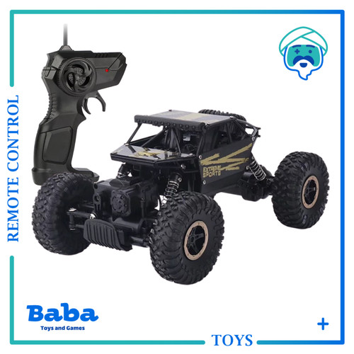 Foto Produk MAINAN MOBIL REMOTE 4WD ROCK CRAWLER OFFROAD 2.4Ghz RC REMOTE CONTROL dari Baba Toys and Games