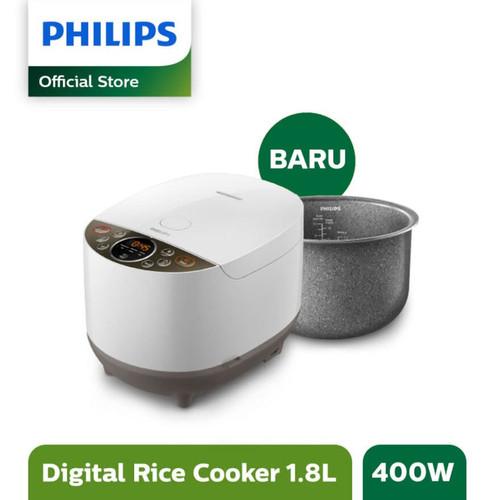 Foto Produk Philips Digital Rice Cooker 1.8L - Fuzzy Logic Bakuhanseki HD4515/33 dari Philips e-Store