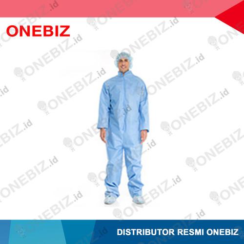 Foto Produk BAJU ANTISTATIK Jumpsuit Warna Biru L dari ONEBIZ