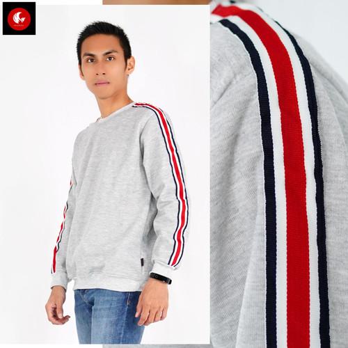 Foto Produk Okechuku KENNY Sweater Pria Switer Pria Sweater Original Switer Unisex - Abu muda dari Okechuku