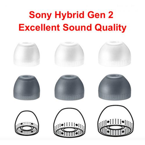 Foto Produk Original Sony Hybrid Isolation Eartips Size M - Transparent, M dari MAXI BSG OFFICIAL