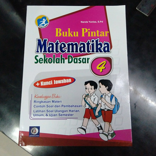 Foto Produk Buku soal Latihan Matematika SD kelas 4 - Nilai 100 Ulangan Harian dari DUTA BUKU PELAJARAN UMUM