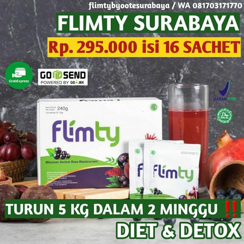 Foto Produk FLIMTY FIBER 8 SACHET DIET & DETOX ALAMI BPOM HALAL - Raspberry dari shoppyroom
