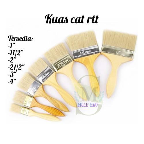 Foto Produk KUAS CAT 633 1 - 4 INCH - KUAS CAT TEMBOK BAGUS - KUAS CAT MURAH - 1.5 inch dari sinar mas 88