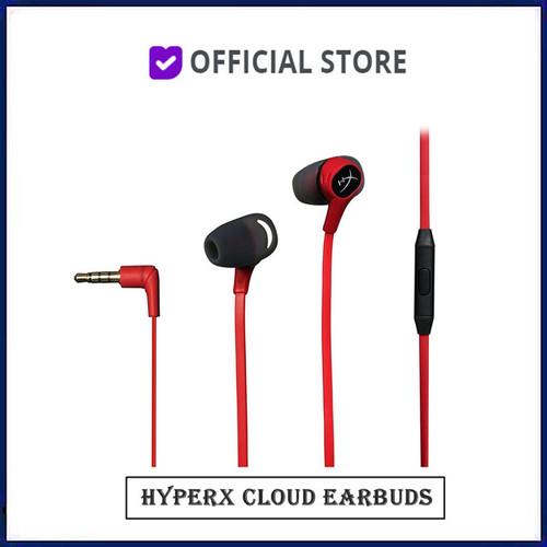 Foto Produk Kingston HyperX Cloud Earbuds Gaming Headphones With Mic dari DUNIA COMPUTER & SERVICE