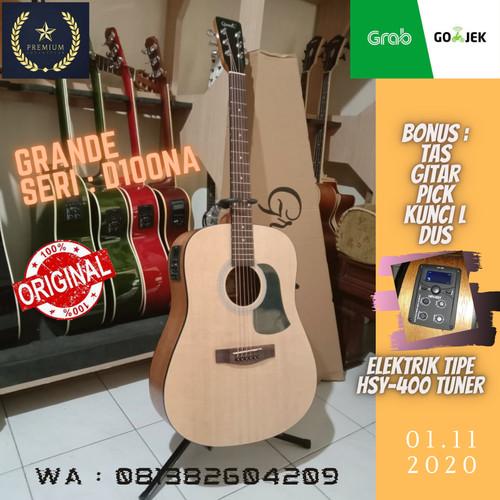 Foto Produk Gitar Akustik Grande GW/ D-100 NA original dari Travertine music