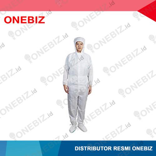 Foto Produk BAJU ANTISTATIK Jumsuit Warna Putih With Hood XL dari ONEBIZ