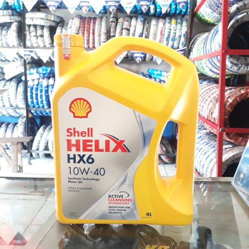 Foto Produk Shell Helix HX6 4L 10w/40 dari Lavana Motor