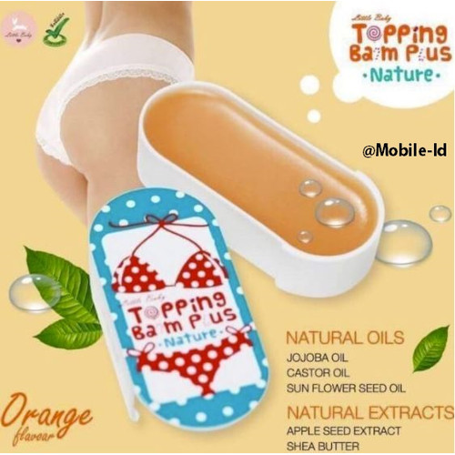 Foto Produk Topping Balm Plus By Little Baby Thailand 100% Aman dari mobile-id