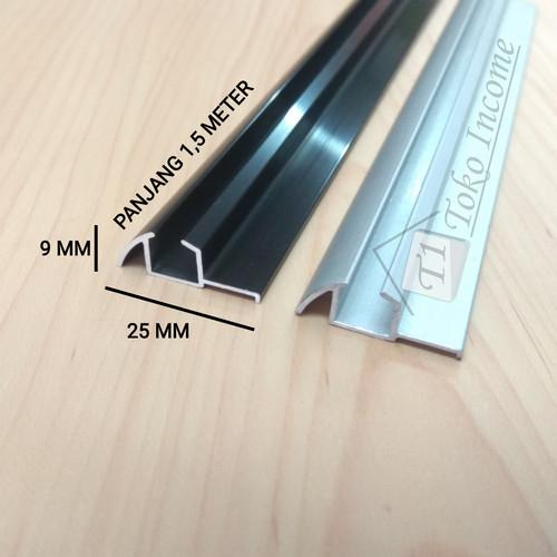 Foto Produk Rel Sliding Timbul 380 Pintu Lemari Geser Minimalis 1,5 Meter (150 CM) dari Toko Income