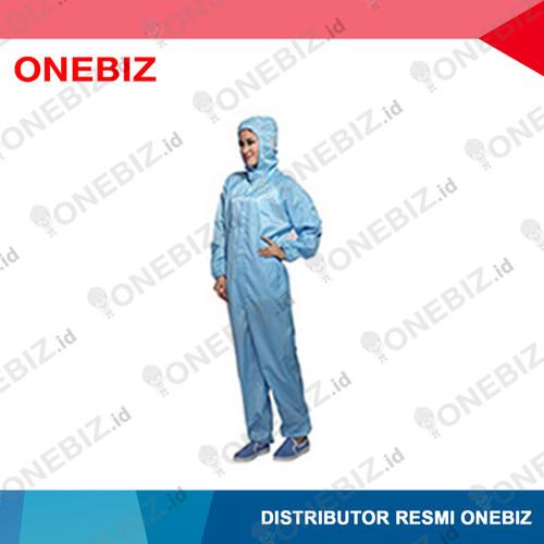 Foto Produk BAJU ANTISTATIK Jumsuit Warna Biru With Hood L dari ONEBIZ