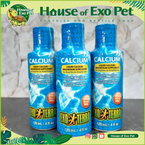 Foto Produk CALCIUM CAIR EXOTERRA KALSIUM RENDAM dari House of Exo Pet
