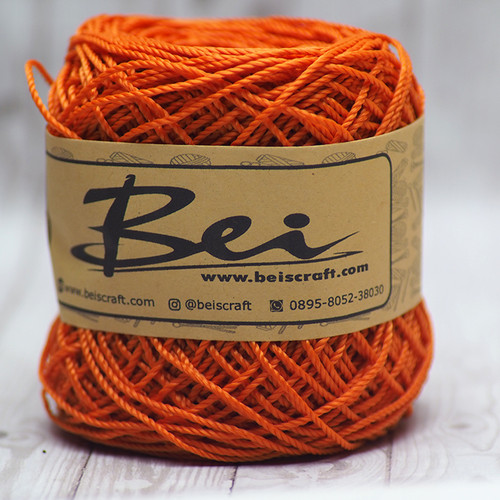 Foto Produk Benang Rajut Nilon / Nylon D27 Warna Orange dari RT 04 Shop