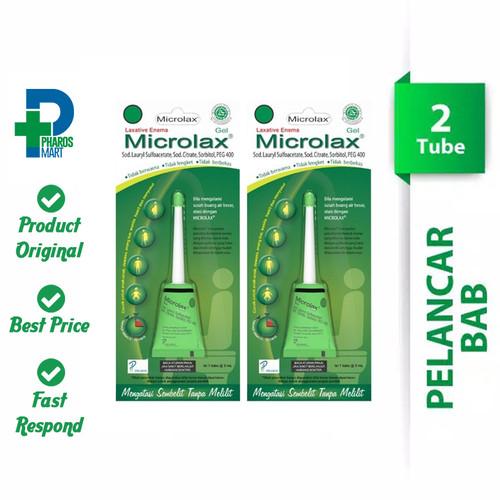 Foto Produk Microlax Gel - 2 Tube @ 5 mL Atasi Sembelit (Susah BAB) dari Pharos Official Store