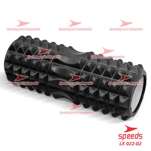 Foto Produk Yoga Roler Foam Roller Gym Fitness FLEXFIT Yoga Olahraga Pilates 022-2 - Hitam dari Speeds Official Store