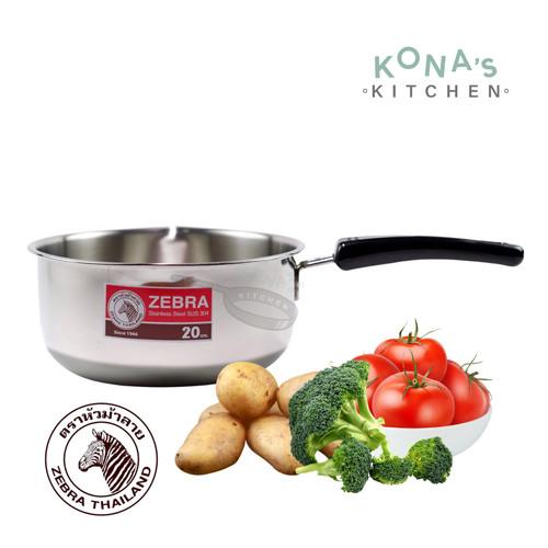 Foto Produk Zebra Sauce Pan 20 Cm (166306) / Panci Stainless dari Kona's Kitchen