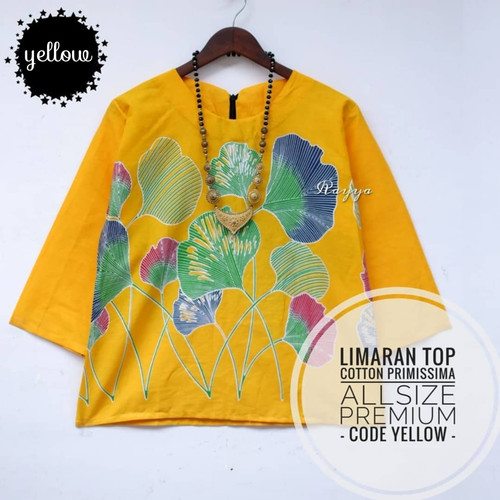 Foto Produk blouse batik casual limaran top dari Batik Sri