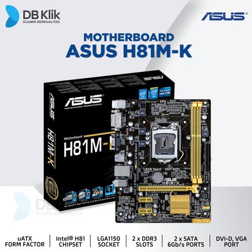 Foto Produk Motherboard ASUS H81M-K dari dbclick