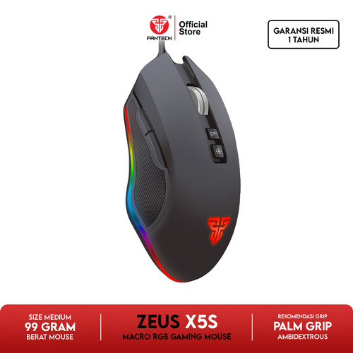 Foto Produk Mouse Fantech Gaming X5s ZEUS dari Fantech Official Store