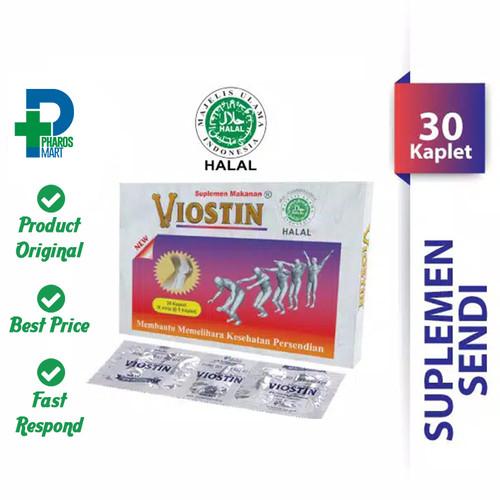 Foto Produk Viostin Halal - 1 Box @ 30 Kaplet Suplemen Sendi dari Pharos Official Store
