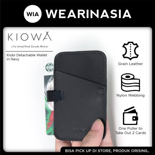 Foto Produk Kiowa Kiobi Detachable Wallet Navy Pria Wanita dari Wearinasia Official