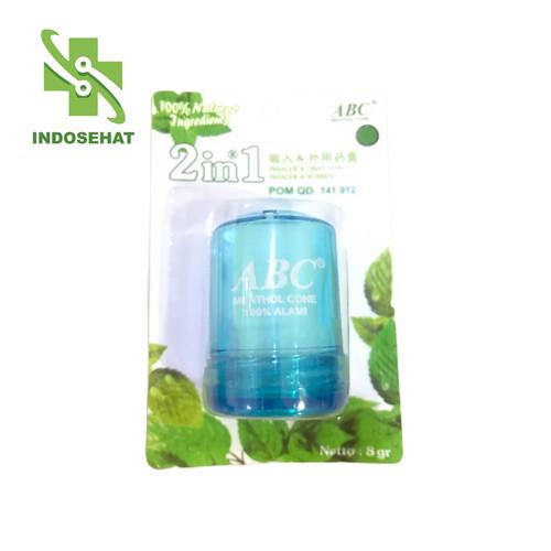 Foto Produk ABC Menthol Cone Besar 8 gram Warna Biru dari Toko Obat IndoSehat