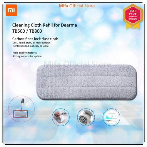 Foto Produk MICROFIBER CLEANING CLOTH REFILL MOP FOR DEERMA SPRAY MOP TB500/TB800 dari MiFa Official Store