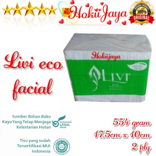 Foto Produk Tissue LIVI ECO Facial Refill 600s dari hokiijaya