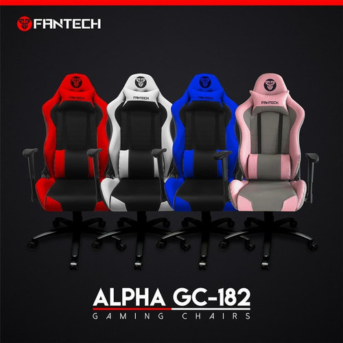 Foto Produk Fantech Alpha GC182 Gaming Chair GC-182 GC 182 - Merah Muda dari Clover Gaming Indonesia