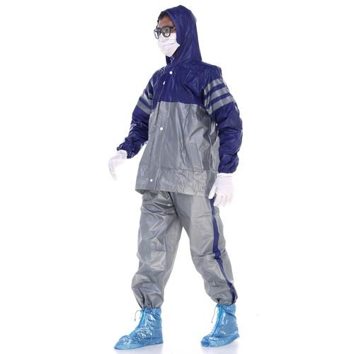 Foto Produk Jas Hujan Kaum 1.0 Satria Jaket Celana Kombinasi Karet - Biru dari Langit Biru