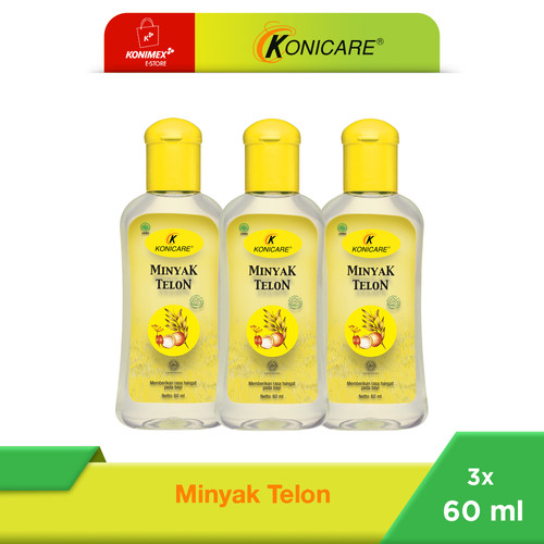 Foto Produk Konicare Minyak Telon 60 ml Paket 3 botol dari Konimex Store