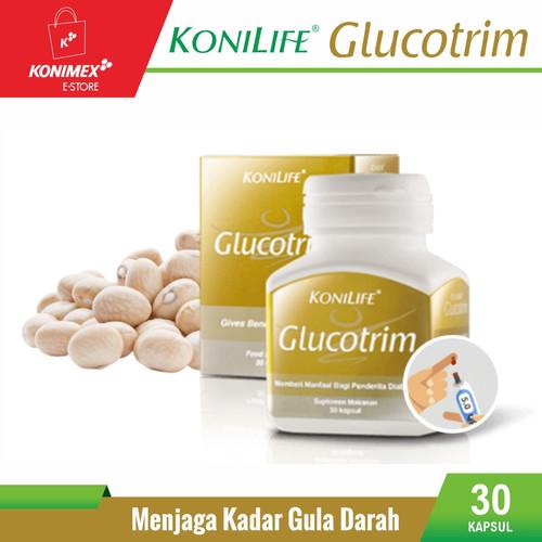 Foto Produk KONILIFE GLUCOTRIM Food Supplement Botol 30 Menjaga Kadar Gula Darah dari Konimex Store