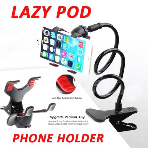 Foto Produk Stand HP Meja Jepit Desk Phone Holder Handphone Lazypod K2-645 - Hitam dari BRANDOS