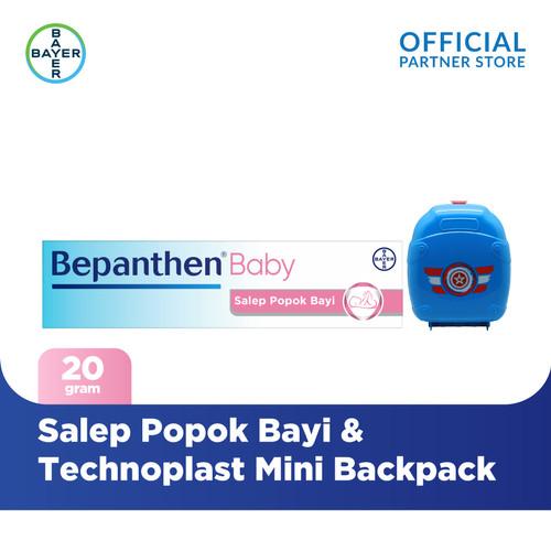 Foto Produk New Bepanthen Salep Popok Bayi 20 gram &Technoplast Mini Backpack dari Bayer Health Partner