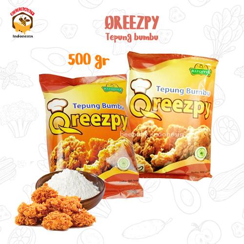 Foto Produk Tepung Bumbu Qreezpy Non MSG 500 gr dari BeeBaby_Indonesia